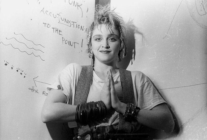 Fotos raras de Madonna no Danceteria, em 1983