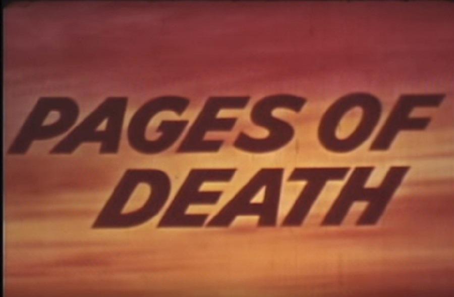 Pages of Death: o terror da pornografia (!)
