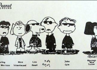 Peanut Underground: Snoopy visita o Velvet Underground