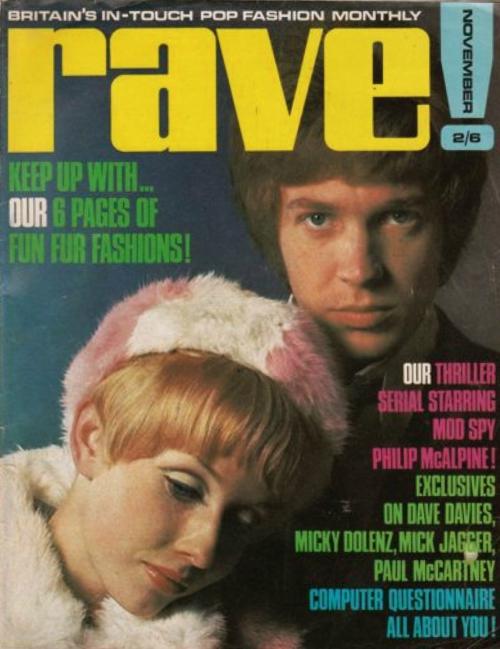 Rave Magazine: música pop em revista, nos anos 1960