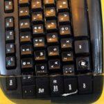 O que acontece quando você mergulha o teclado de seu computador na acetona