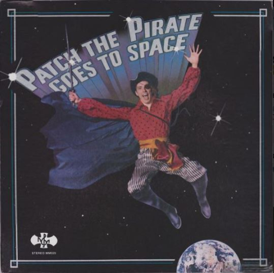 Patch The Pirate: sim, existe um pirata de Cristo, que grava discos infantis