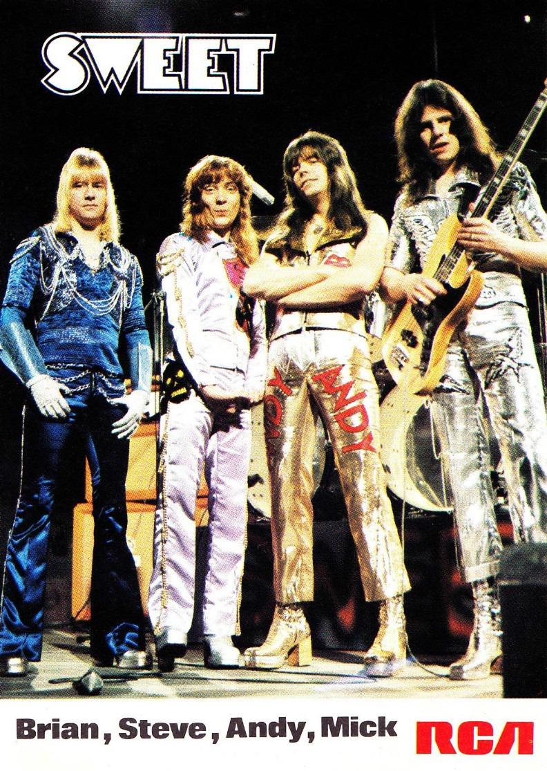 As aventuras do Sweet em 1973, num documentário da BBC
