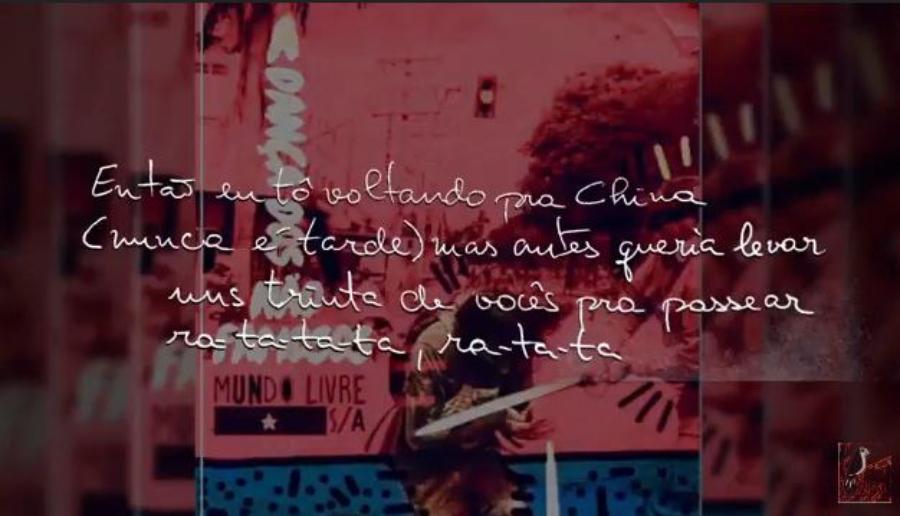 Nova música do Mundo Livre S/A vem com lyric video