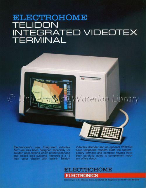 E o Canadá, que tinha uma espécie de pré-internet em 1979, o Telidon?