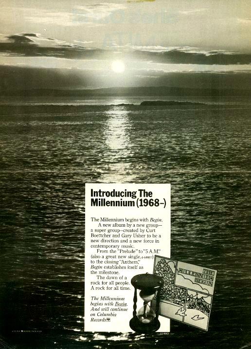 The Millennium: cuíca na psicodelia californiana dos anos 1960