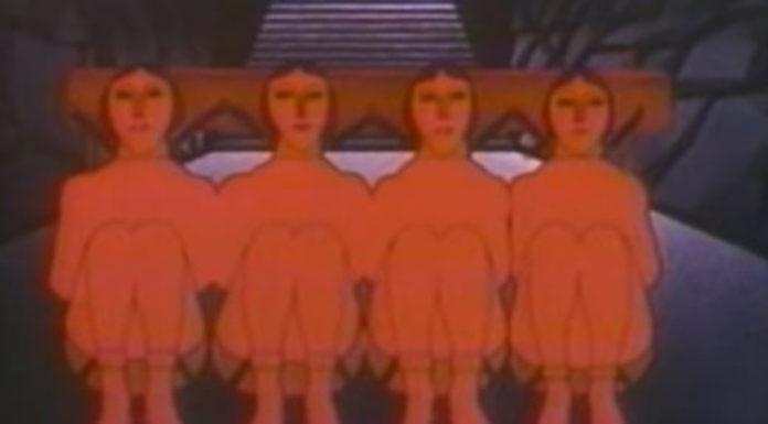 Orson Welles narrando uma animação da Alegoria da Caverna, de Platão
