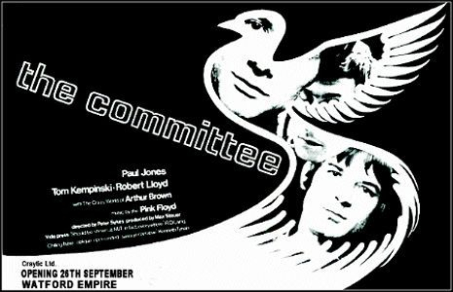 The Committee: aquele filme desconhecido com trilha do Pink Floyd