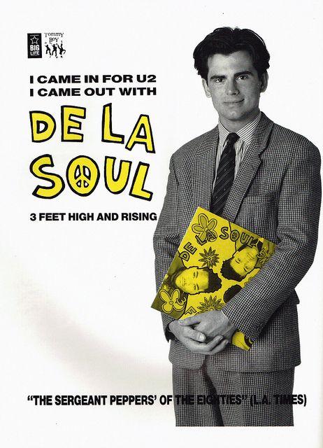 """Jogaram o vídeo de divulgação de """"3 Feet..."""" do De La Soul, no YouTube"""