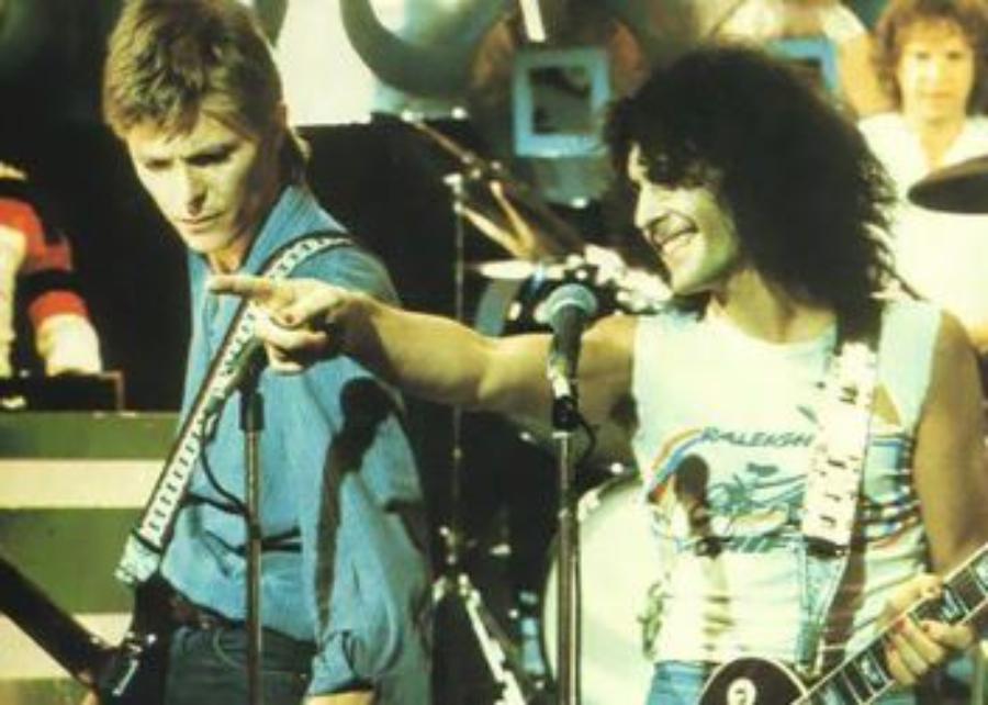 David Bowie e Marc Bolan: parabéns por você existir, amigo