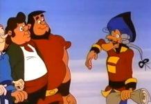 Fizeram um desenho animado (muito legal!) sobre o Barão de Munchausen em 1984