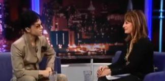 Maria Bartiromo, musa de Joey Ramone, recebe Prince (!)