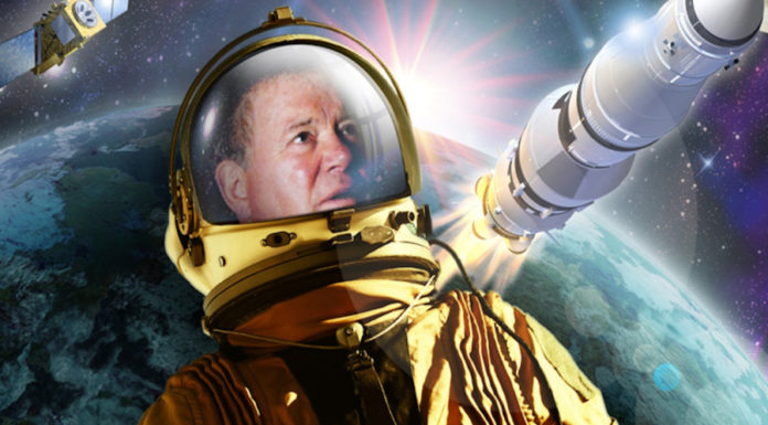 O disco progressivo-espacial de Willian Shatner