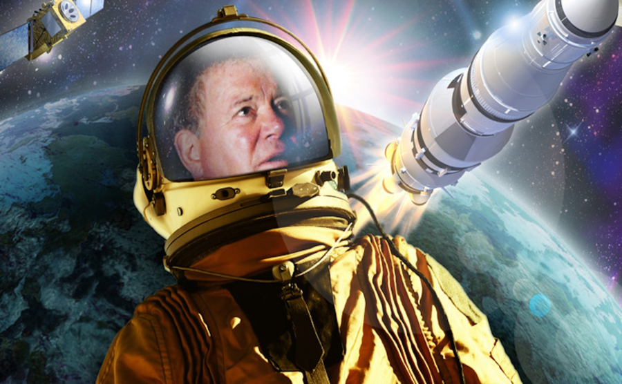 O disco progressivo-espacial de Willian Shatner