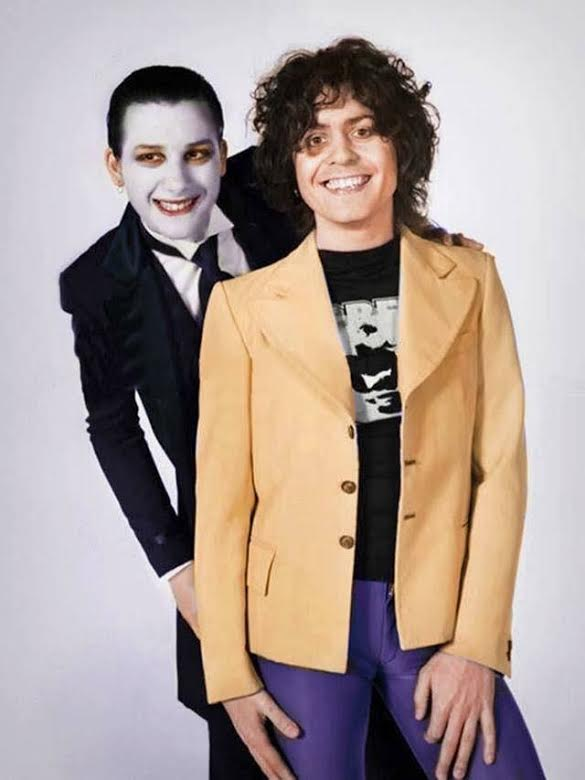 Quando Marc Bolan se aproximou do punk