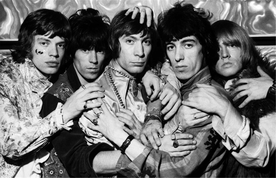 Rolling Stones através dos tempos num timelapse