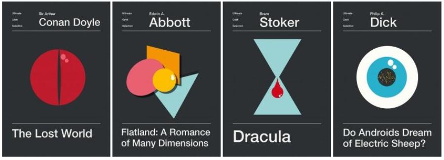 """Nicolas Beaujouan: capas BEM minimalistas para clássicos como """"O senhor dos aneis"""" e """"Duna"""""""