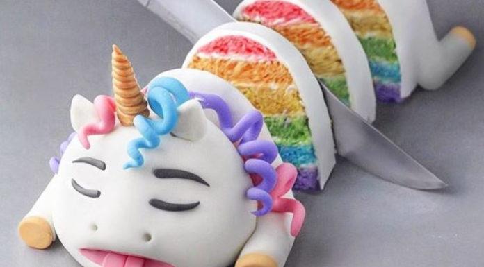 Você comeria um bolo de unicórnio morto?