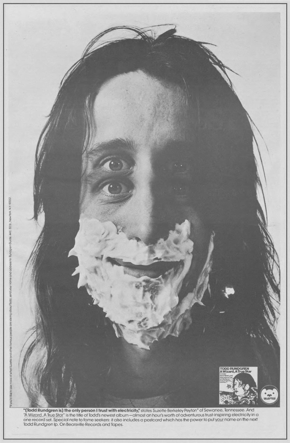 E A Wizard/A True Star, de Todd Rundgren, fez 45 anos em 2018