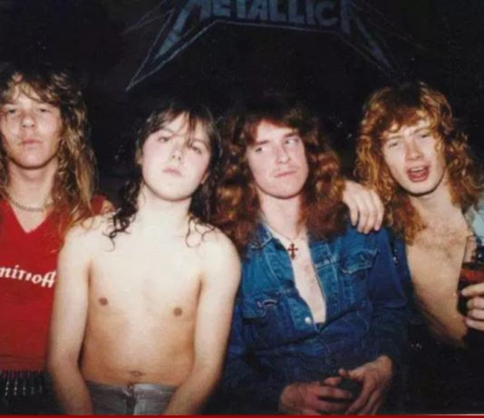 Jogaram no YouTube o áudio do primeiro show do Metallica com Cliff Burton