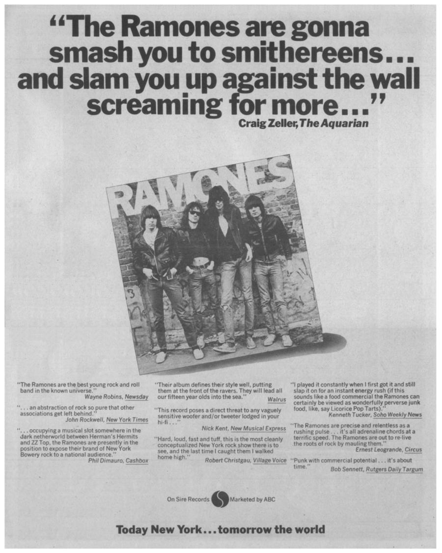 Lembra quando os personagens de Judy Is A Punk, dos Ramones, se juntaram ao Ice Capades?