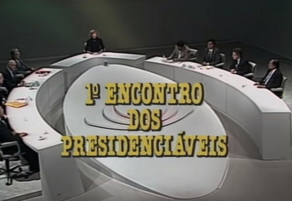 Debates políticos e barracos entre artistas no Canal Livre, da Band, em 1989