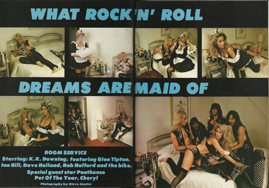 Quando a Kerrang! parecia que tinha parceria com a Penthouse