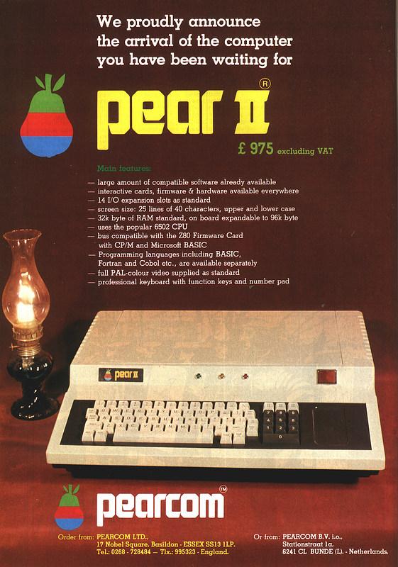 Que saudade do computador Pear II