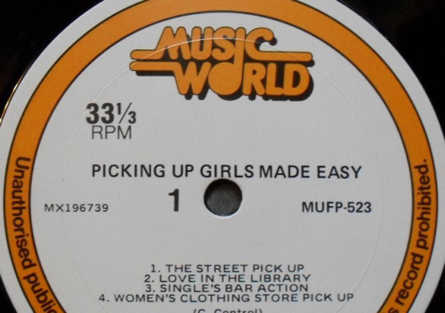Picking Up Girls Made Easy: um LP ensinando técnicas medonhas para ficar com garotas