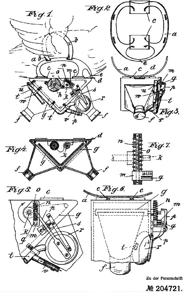 Quando não tinha drone, o farmacêutico Julius G. Neubronner apresentou uma solução: colocar uma câmera num pombo