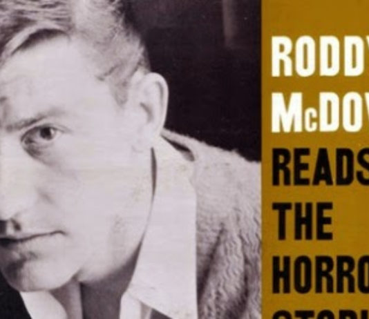 Roddy McDowall lendo H. P. Lovecraft