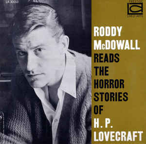 Roddy McDowall lendo H. P. Lovecraft