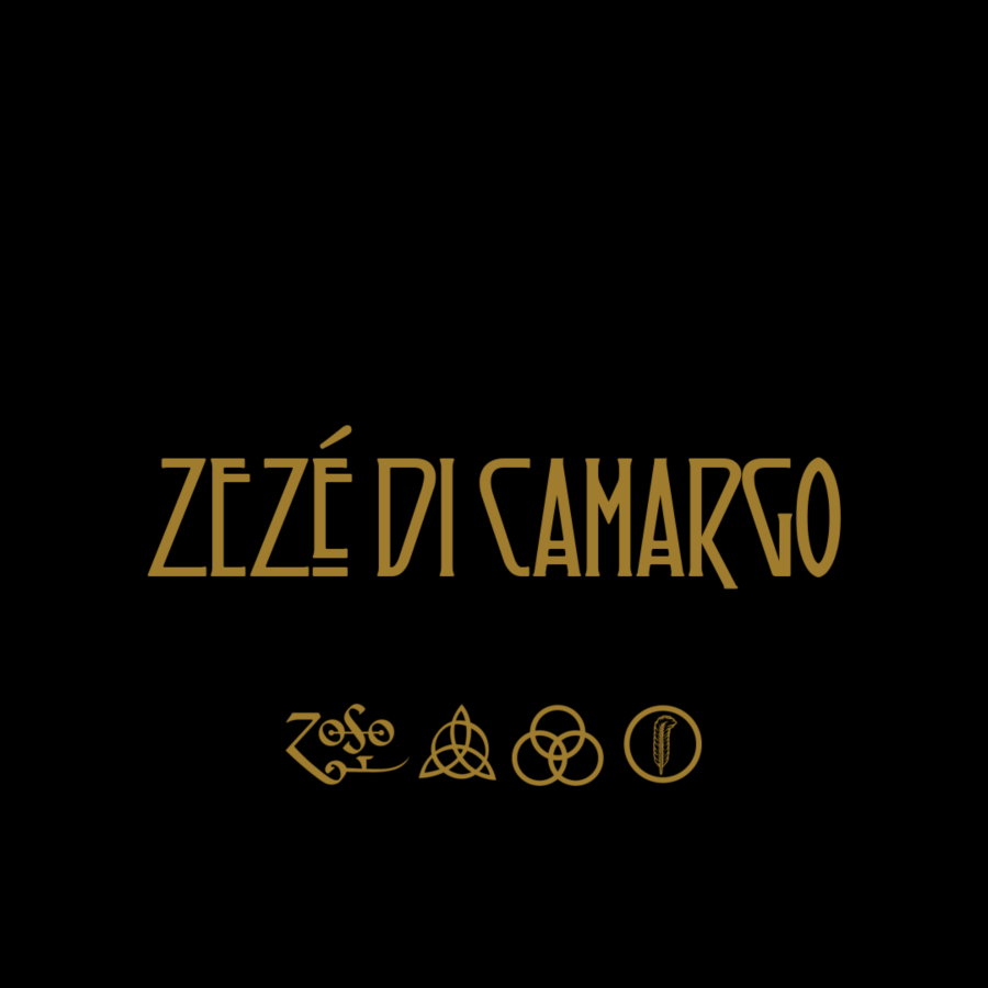 O Led Zeppelin deixa você escrever o que quiser usando a logomarca deles