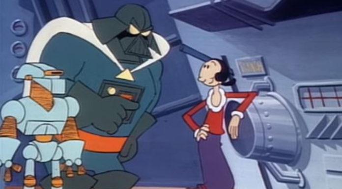 Aquela vez em que Popeye homenageou Star Wars