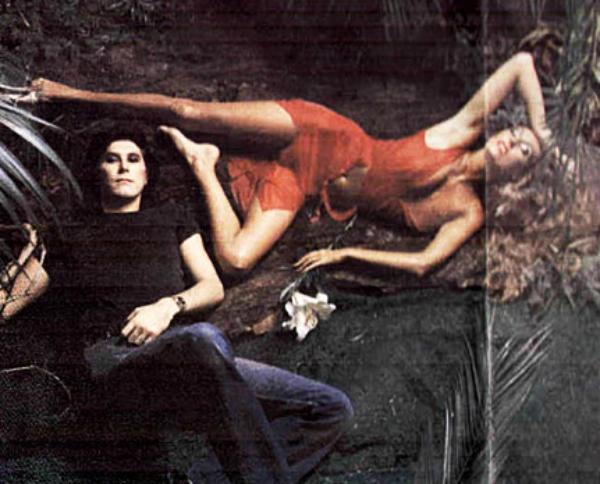 Olha só os outtakes das capas do Roxy Music