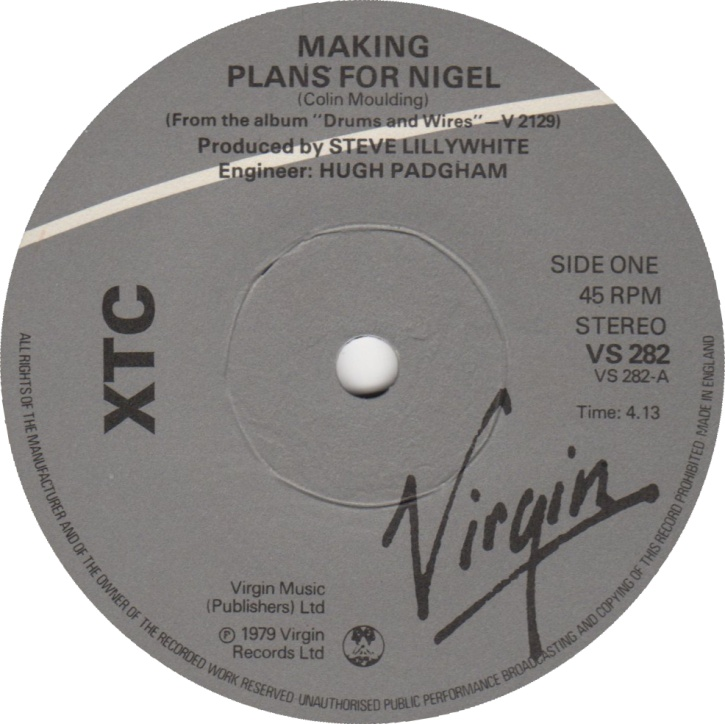XTC: Making Plans for Nigel vai fazer 40 anos em 2019!