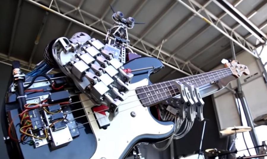 Compressorhead: banda de robôs que toca Nirvana e Hole