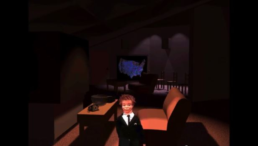 Puppet Motel: o game de Laurie Anderson