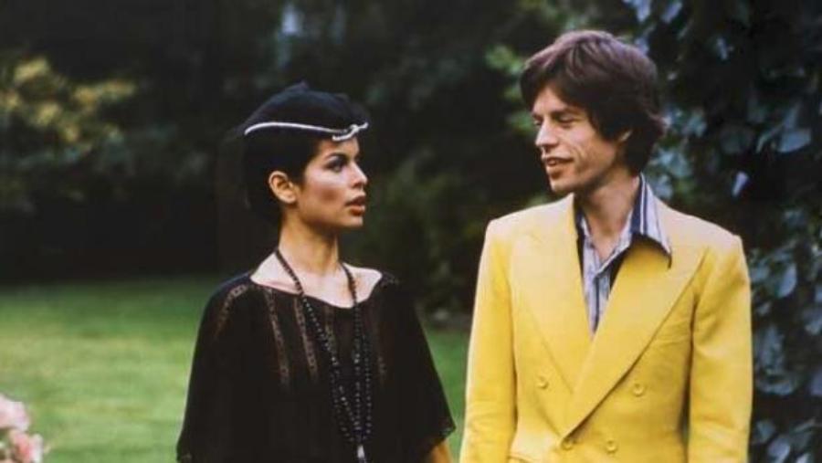 Quando Leni Riefenstahl fotografou Mick Jagger e Bianca Jagger
