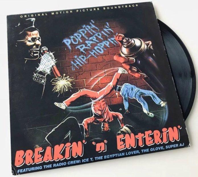 Breakin' n enterin': Ice T e outros rapper narrando um filme sobre a onda break dos anos 1980