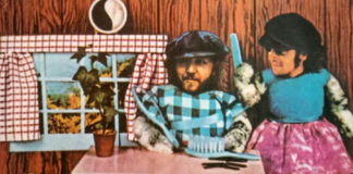 Anúncio de TV sequelado para Pussy Cats, disco de Harry Nilsson produzido por John Lennon
