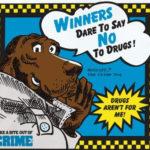 Aquela vez em que botaram um cão policial para gravar um disco anti-drogas para crianças