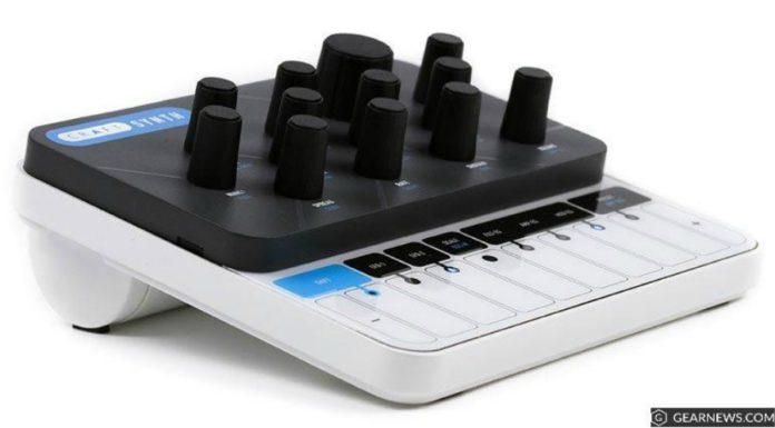 CRAFTSynth 2.0: parece um videogame mas é um sintetizador
