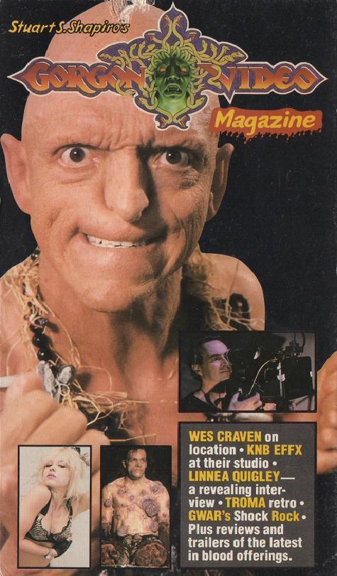 Gorgon Video Magazine, a sua revista de terror em VHS (!!)