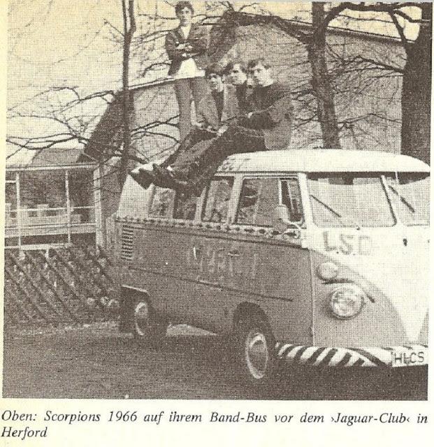 Aquela época em que Jimi Hendric era vocalista dos Scorpions
