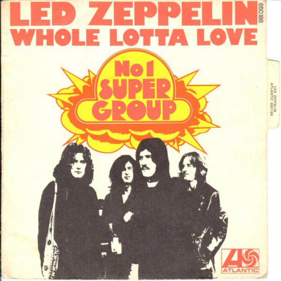 Led Zeppelin II, Small Faces e o plágio do plágio do plágio