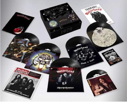 Um box lembra aquela época em que o Motörhead invadiu as paradas de sucesso