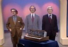 Aquela vez em que tentaram adivinhar quem era o verdadeiro Robert Moog, num programa de TV