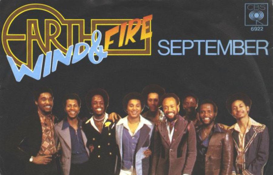 September, do Earth, Wind & Fire, com os vocais lá pra agosto
