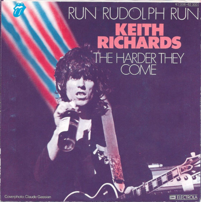Aquela vez em que Keith Richards gravou um single de Natal